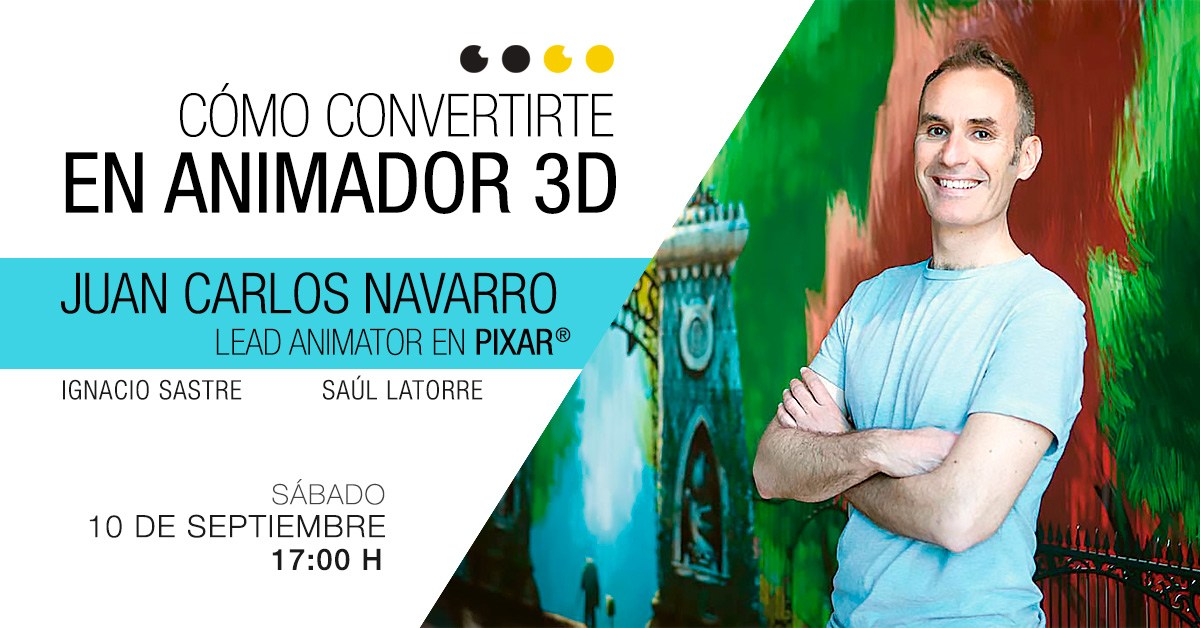 workshop como convertirte en animador 3d