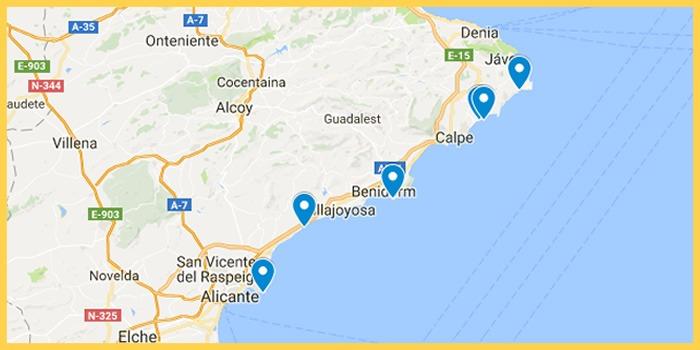 Calas de Alicante