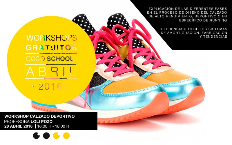 Coco School WorkShop Calzado Deportivo