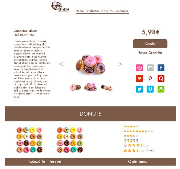 Creaciones de Landing Page 4 por los alumnos de coco school máster