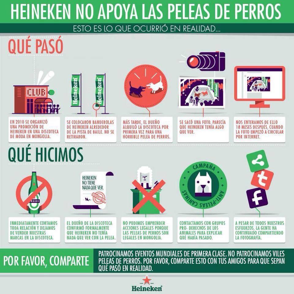 Heineken infografías