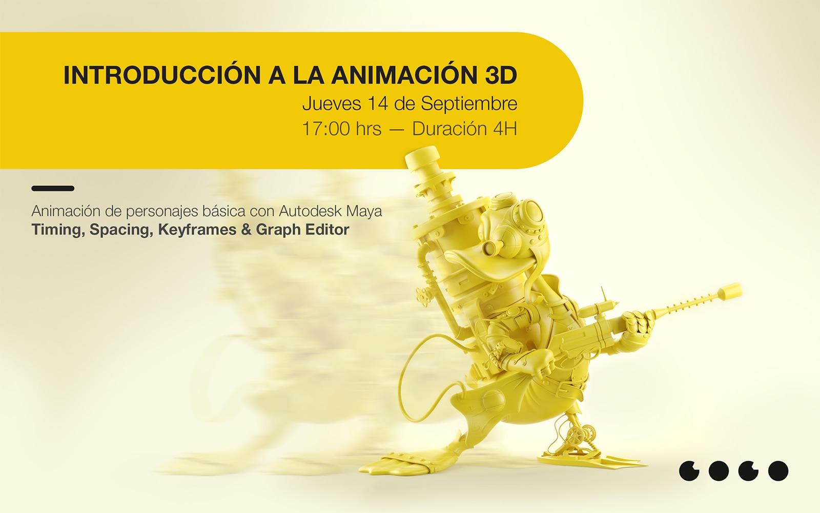 Introducción a la Animación 3D
