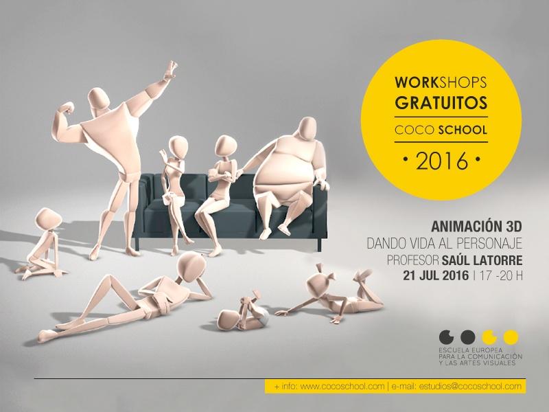 Workshop Animacion 3D Dando Vida al Personaje