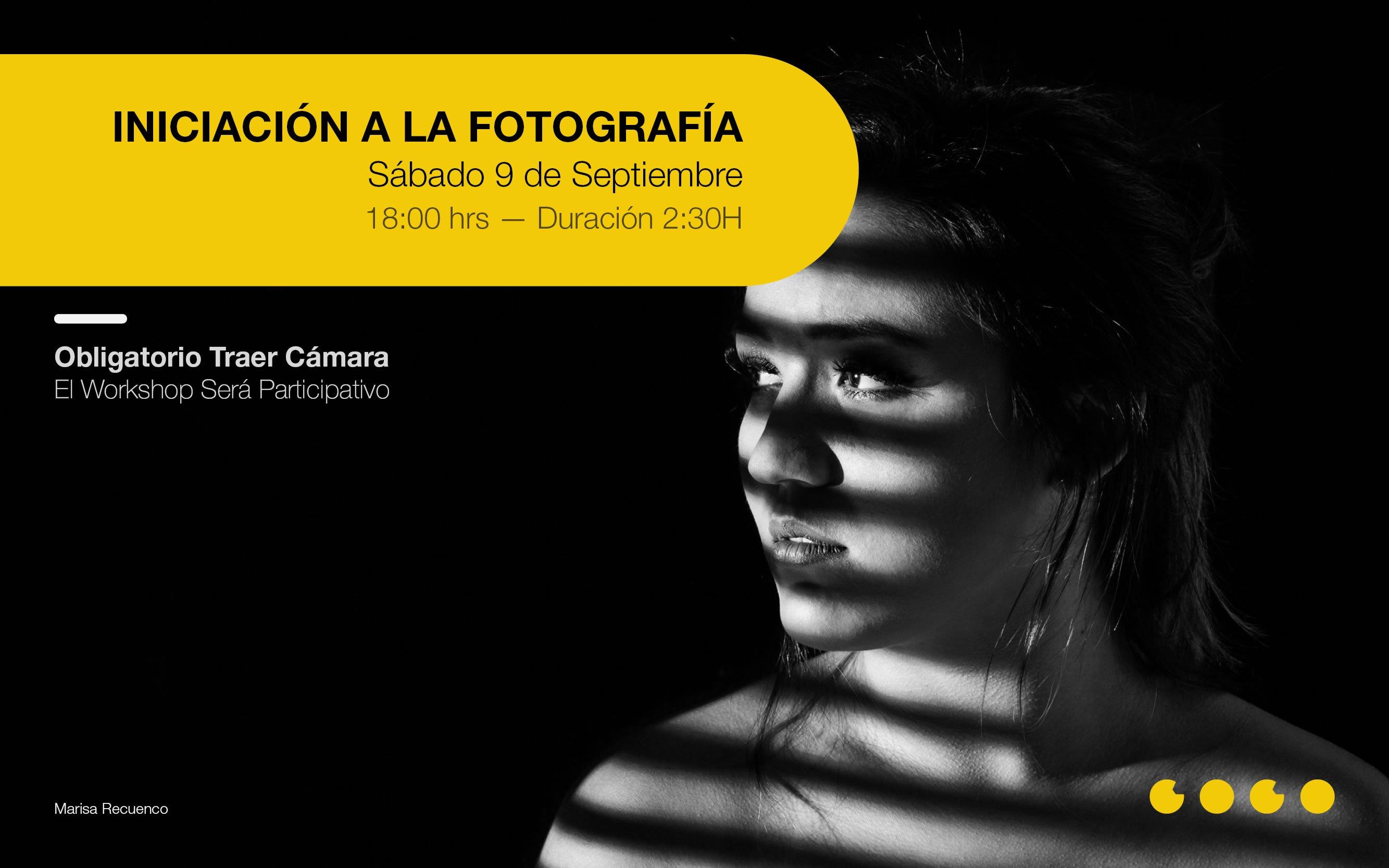 Workshop Iniciación a la Fotografía