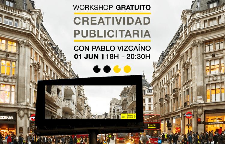 Workshop Creatividad Publicitaria Pablo Vizcaino