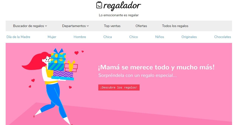 actualizar web dia de la madre