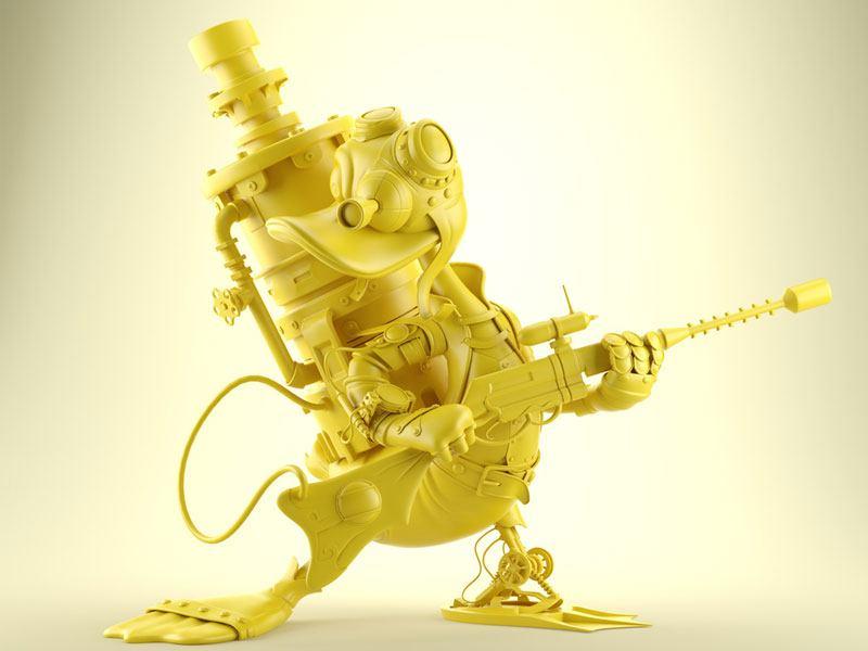 Máster título propio UCAM Modelado, Animación de Personajes y Bodymechanics Avanzado para Videojuegos