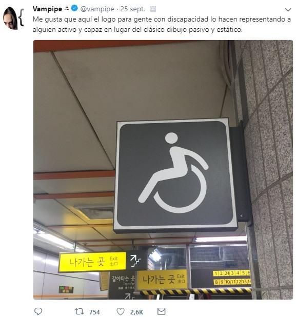 diseño simbolo personas silla de ruedas