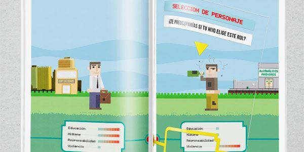 ilustracion en diseño grafico coco school 4