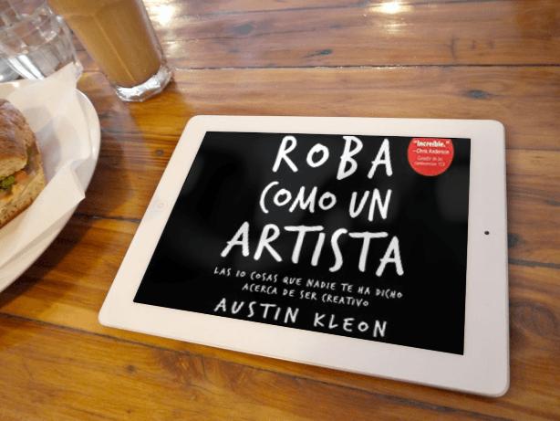 libro recomendado roba como un artista