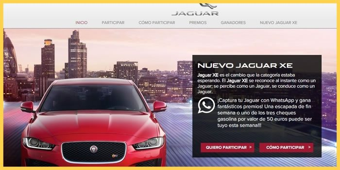 marketing en whatsapp caso jaguar