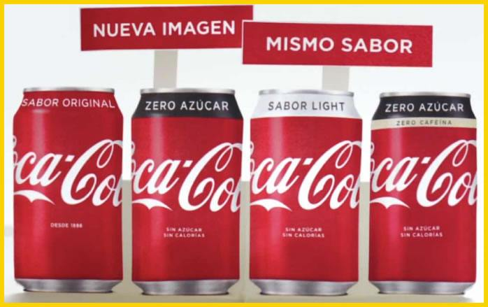 packaging coca cola