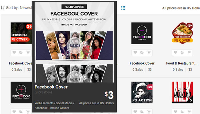 plantillas paginas de facebook portadas