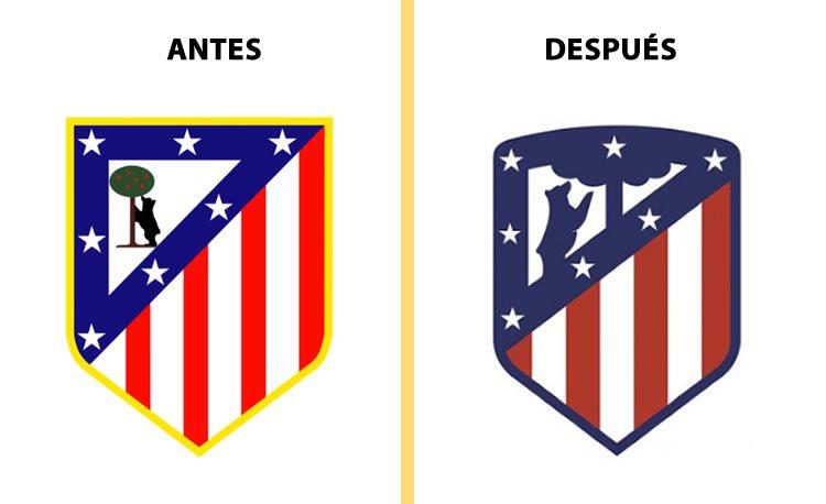 rebranding escudo atletico de madrid