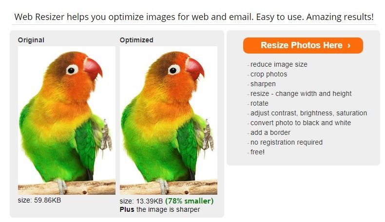 webresizer herramienta imagenes